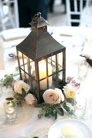 Table Lanterns Decorate Tent For Wedding Weddings Creamy Flowers Centerpieces House Full Small