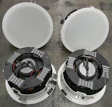Sonance Ceiling Speakers Australia by 4x Sonance Virtuoso V831 Dr Model Ceiling Mount Speakers White