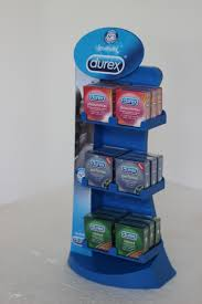Durex Counter Top Dispenser Designed Produced By Display Power Global Pakistan