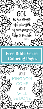 Free Printable Bible Verse Coloring Pages With Bursting Blossoms At Verses