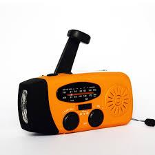 le de poche a manivelle d urgence led le de poche à manivelle solaire am fm novv radio