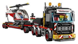 LEGO City Heavy Cargo Transport (60183) - Toys