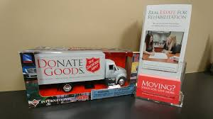 SA TRUCK (SALVATION ARMY DONATIONS)