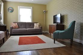 drum shades white floor ls mid century living room