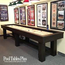Pottery Barn Pool Table Rustic Contemporary Shuffleboard Style