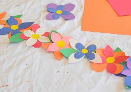 Flower Crowns Great Easy Spring Craft For Preschool Kindergarten Or Elementary Kids