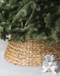 Light Brown Woven Tree Collar