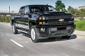 2017 Chevrolet Silverado 2500HD 4WD Z71 LTZ First Test Review ...