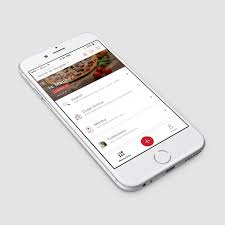 Zomato Homescreen Mobile UI Design List