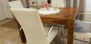 details zu 4 essstühle esszimmer stühle lounge beige 4 stck