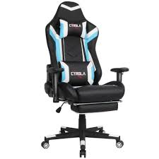 Best PC Gaming Chair Video Game Chair With Footrest Computer Gaming ... The Best Cheap Gaming Chairs Of 2019 Top 10 In World We Watch Together Symple Stuff Labombard Chair Reviews Wayfair Gaming Chairs Why We Love Gtracing Furmax And More Comfortable Chair Quality Worci 24 Ergonomic Pc Improb Best You Can Buy In The 5 To Game Comfort Tech News Log Expensive Buy Gt Racing Harvey Norman Heavy Duty 2018 Youtube Like Regal Price Offer Many Colors Available How Choose For You Gamer University