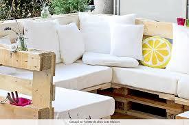 fabriquer canapé d angle en palette luxe faire un canapé en palette l idée d un porte manteau