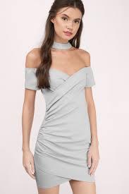 cute black dress off shoulder dress stretch dress bodycon