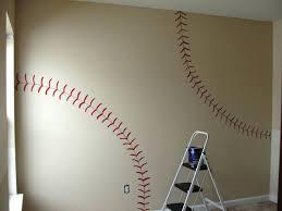 wall ideas baseball wall mural ideas vintage baseball wall