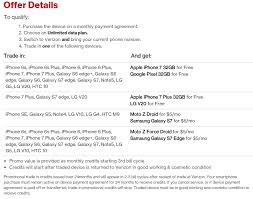 Get a free iPhone 7 with Verizon s new unlimited plan