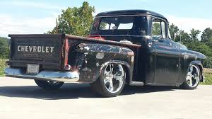57 Chevy Truck # Rat Rod , Low Rider , Chrome Wheels , 3100 Series ... 632 Shafiroff Nastybig Block Chevy 57 Pro Street Drag Truck 1957 Chevy Truck Zl1 Restomod West Coast Customs Chevrolet Pickup Piecing Together The Puzzle Hot Rod Network 55 59 Task Force Trucks Pinterest Custom Alinum Billet Grille New Cool Stuff Chevy Trucks Cars 3100 With 18 Torq Thrust Ii Wheels Patinad And Slammed Truck Hott Rods Stella Doug Cerris Slamd Mag Rat Or 454 Powered 2015 Redneck