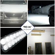 TC X 7 Inch 18 X 3W LED Light Bar Ultra Flood Lights For Truck ... 4x 4inch Led Lights Pods Reverse Driving Work Lamp Flood Truck Jeep Lighting Eaging 12 Volt Ebay Dicn 1 Pair 5in 45w Led Floodlights For Offroad China Side Spot Light 5000 Lumen 4d Pod Combo Lights Fog Atv Offroad 3 X 4 Race Beam Kc Hilites 2 Cseries C2 Backup System 519 20 468w Bar Quad Row Offroad Utv Free Shipping 10w Cree Work Light Floodlight 200w Spotlight Outdoor Landscape Sucool 2pcs One Pack Inch Square 48w Led Work Light Off Road Amazoncom Ledkingdomus 4x 27w Pod