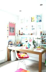 bureau d ado deco fille ado chambre dadolescente avec stickers muraux