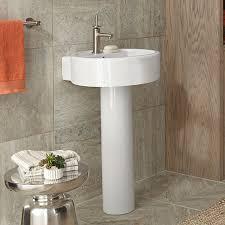 18 Inch Pedestal Sink by Pedestal Sink Seagram 20 Inch Round Pedestal Lavatory By Dxv