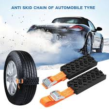 Lot Car Universal Mini Plastic Winter Tyres Wheels Snow Chains