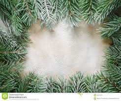 The Frame Of Branches Christmas Tree