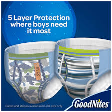 Goodnites Bed Mats by Goodnites Bedtime Bedwetting Underwear For Boys Size S M 44
