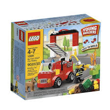 100 Lego Fire Truck Games Amazoncom LEGO Bricks More My First Station 10661 Toys