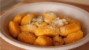Pumpkin Gnocchi Recipe by Gnocchi Di Zucca Vegetarian Pumpkin Gnocchi Gluten Free Youtube