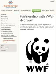 panda wwf leaps into bed with salmon nutreco green