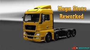 100 Megastore Truck Mega Store Reworked V61 By Afrosmiu ETS2 Mods Euro
