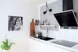 kleines küchenupdate 107qm schwarz auf weiß