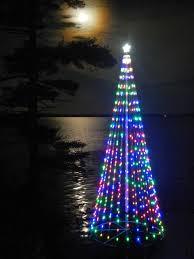 Christmas Tree On Lake