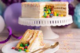 konfetti cake mit überraschungsfach kuchen und torten