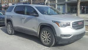 GMC Acadia - Wikipedia Gmc Acadia Jryseinerbuickgmcsouthjordan Pinterest Preowned 2012 Arcadia Suvsedan Near Milwaukee 80374 Badger 7 Things You Need To Know About The 2017 Lease Deals Prices Cicero Ny Used Limited Fwd 4dr At Alm Gwinnett Serving 2018 Chevrolet Traverse 3 Gmc Redesign Wadena New Vehicles For Sale Filegmc Denali 05062011jpg Wikimedia Commons Indepth Model Review Car And Driver Pros Cons Truedelta 2013 Information Photos Zombiedrive Gmcs At4 Treatment Will Extend The Canyon Yukon