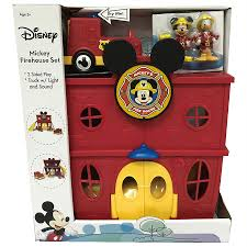 100 Mickey Mouse Fire Truck Disney House Set With Light And Sound Walgreens