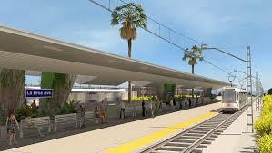 Lamps Plus La Brea Ave by Light Rail Station Design Concept David Turner Studio Archinect