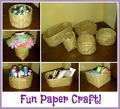Picture Of DIY Paper Baskets