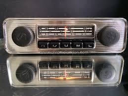 chrome vintage classic car radios for sale