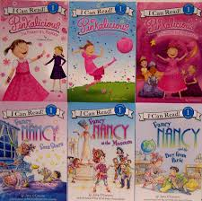 Pinkalicious Fancy Nancy 6 Book Set Of I Can Read Level 1 Books