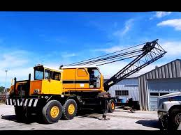 American 7450 Truck Mounted Lattice Boom Crane - YouTube
