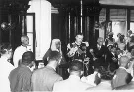 Lord Hailes Takes The Oath Of Office As Governor General Federation West Indies
