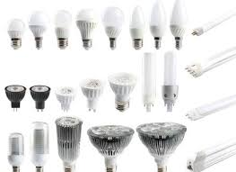 different types of light bulbs for recessed lighting