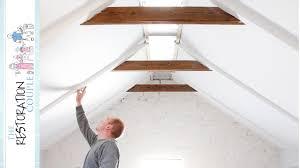 100 Rustic Ceiling Beams DIY Faux Rafters