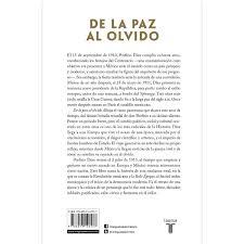 De La Paz Al Olvido Porfirio Díaz