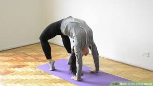 How Does A Carpet Stretcher Work by How To Do A Backbend With Pictures Wikihow