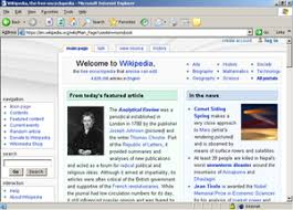 Internet Explorer 6 With Classic Styles