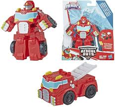 100 Rescue Bots Fire Truck Playskool Heroes Transformers Heatwave Mode