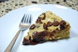 kichererbsen schokochip torte chickpea chocolate chip cake