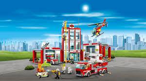 Fire Station 60110 - LEGO City Sets - LEGO.com For Kids - MY