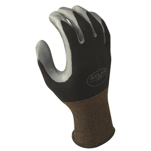Atlas Glove Black Nitrile Glove Large